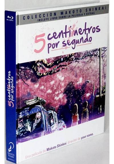 5 centimetros por segundo (Blu-ray + DVD+ Libro) (Byôsoku go Senchimêtoru)