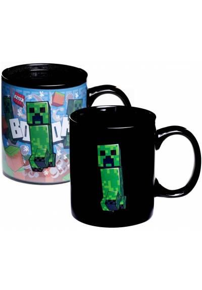 Taza Termica Creeper - Minecraft