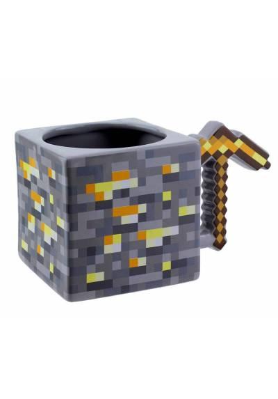 Taza Gold Pickaxe - Minecraft