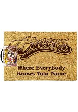 Everybody Knows Your Name Door Mat - Cheers (40 X 60 X 2)