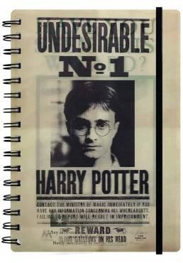 Cuaderno A5 de notas Lenticular 3D Sirius & Harry - Harry Potter