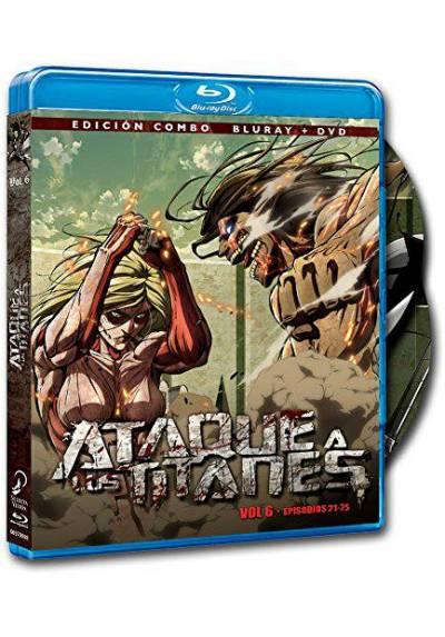 copy of Ataque A Los Titanes : La Pelicula - 2ª Parte (Blu-Ray + Dvd + Libro) (Ed. Coleccionista) (Attack On Titan)