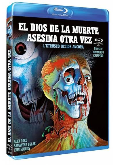 El Dios de la muerte asesina otra vez (Blu-ray) (Bd-R) (L'etrusco uccide ancora)
