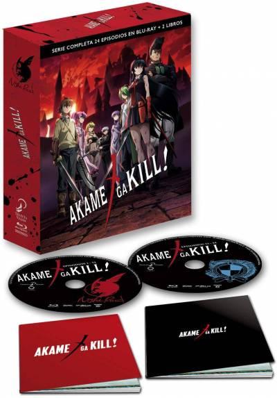 Akame Ga Kill! Serie Completa (Blu-ray + 2 Libros)