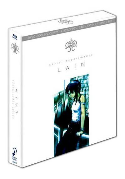 Lain: Serial Experiments (Ed. Coleccionista Limitada) (2 Bd + Extras + Libro) (Blu-ray)