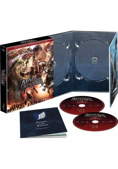Ataque a los Titanes Temporada 3 Parte 2 (Blu-ray)
