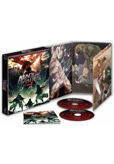 Ataque a los Titanes Temporada 2 (Blu-ray)