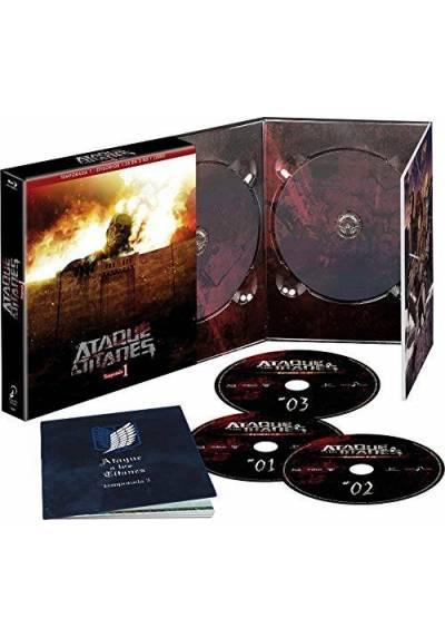 Ataque a los Titanes Temporada 1 (Blu-ray)