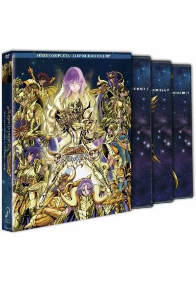 copy of Saint Seiya - Soul Of Gold - Vol. 1 (Blu-Ray + Dvd + Extras) (Ed. Digibook Coleccionista)