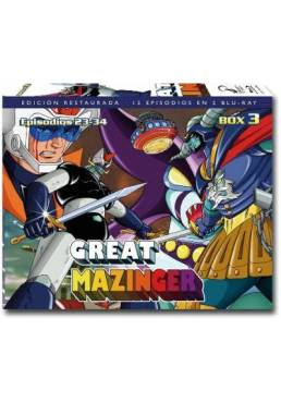 Great Mazinger Box 3 (Blu-ray)
