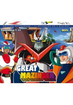 Great Mazinger Box 1 (Blu-ray)