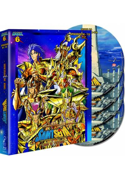 Saint Seiya: Los Caballeros Del Zodiaco - Box 6 (Blu-Ray)