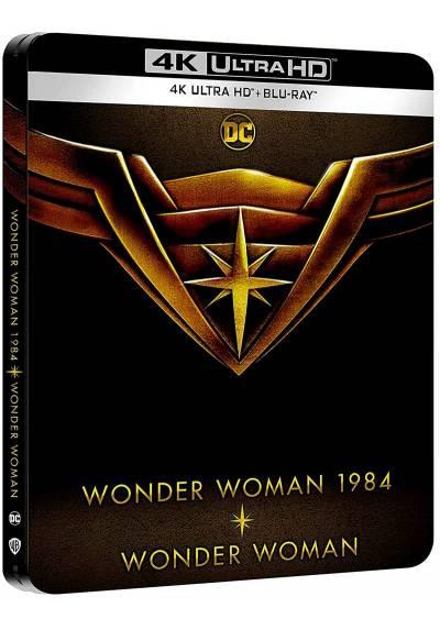 Wonder Woman (2017) + Wonder Woman 1984 (2020) - Steelbook (4 Ultra HD + Blu-ray)
