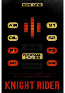 Poster Knight Rider (POSTER 61 x 91,5)