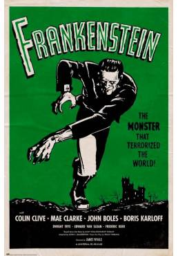 Poster Frankenstein (POSTER 61 x 91,5)