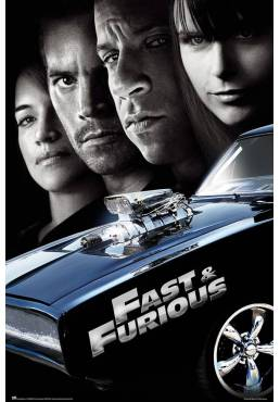 Poster Fast & Furious 4 (POSTER 61 x 91,5)