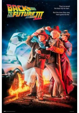 Poster Regreso al Futuro III (POSTER 61 x 91,5)