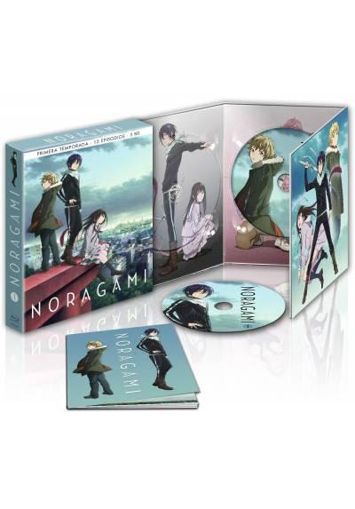 Noragami - 1ª Temporada (2 Blu-Ray + Extras + Libro)