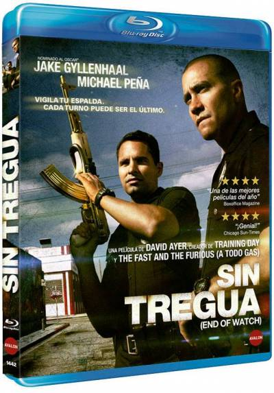 Sin Tregua (Blu-ray) (End Of Watch)