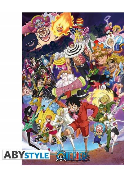 Poster One Piece - Personajes (POSTER 61 x 91,5)