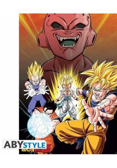 Poster DBZ/ Buu Vs Saiyans - Dragon Ball (POSTER 61 x 91,5)