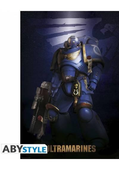Poster Ultramarine - Warhammer 40K (POSTER 61 X 91,5)