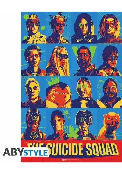 Poster Escuadron Suicida 2021 - Personajes (POSTER 61 x 91,5)