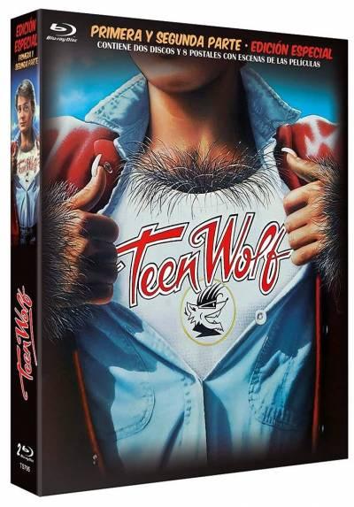 Teen Wolf (De Pelo En Pecho I y II) (Blu-Ray) (Edicion Especial con 8 Postales)
