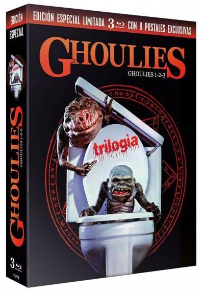 Ghoulies 1-2-3 Blu-ray) (Digipack Edicion Especial Limitada con Postales)
