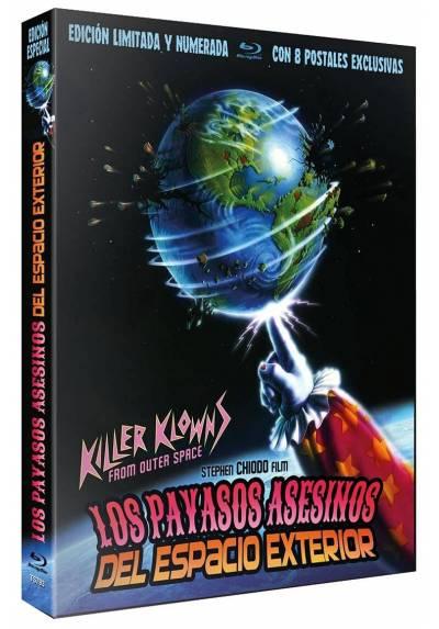 Los payasos asesinos del espacio exterior (Blu-ray) (Killer Klowns from Outer Space)