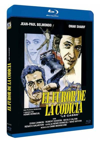 El furor de la codicia (Blu-ray) (Le casse)