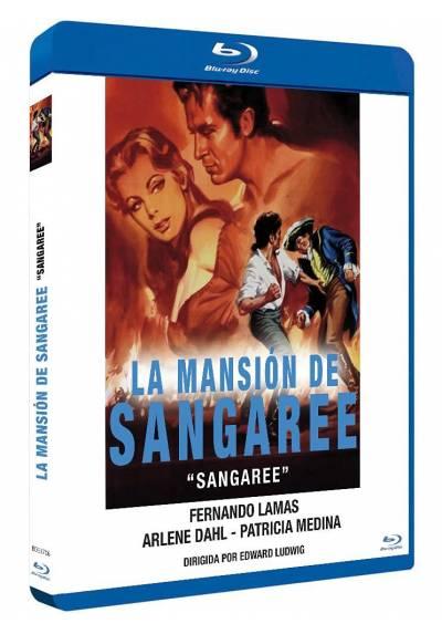 La mansion de Sangaree (Blu-ray) (Sangaree)