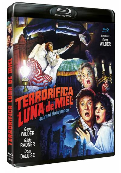 Terrorifica luna de miel (Blu-ray) (Haunted Honeymoon)
