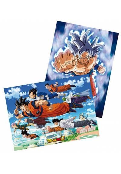 Set 2 Chibi Posters - Goku & Friends - Dragon Ball (POSTER 52x38)