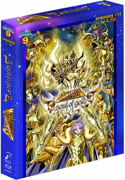 copy of Saint Seiya - Soul Of Gold - Vol. 3 (Blu-Ray + Dvd + Extras) (Ed. Digibook Coleccionista)