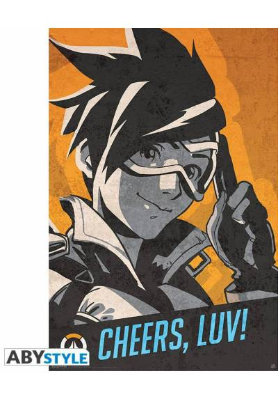 Tracer Cheers, Luv - Overwatch (POSTER 61 x 91,5)