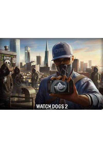 Watch Dogs 2 (POSTER 98x68)