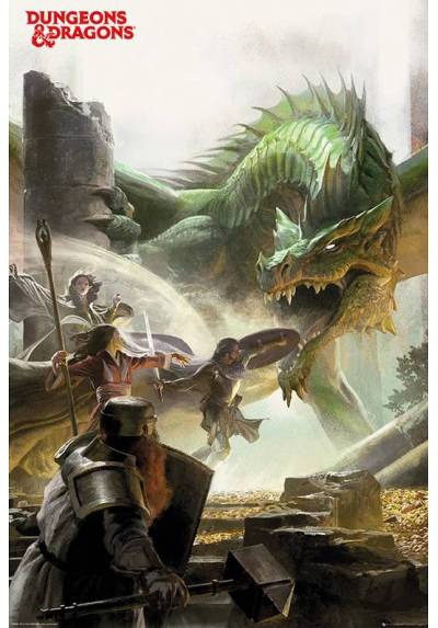 Dungeons & Dragons (POSTER 61 x 91,5)