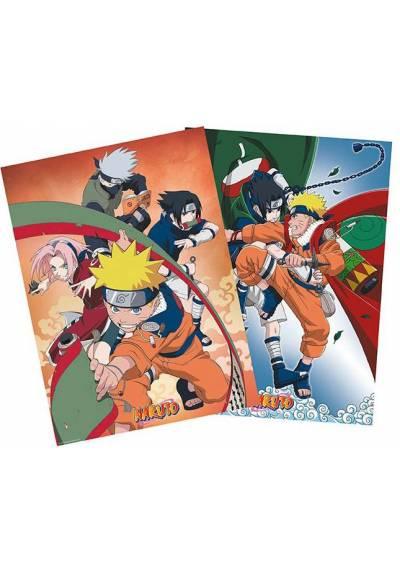 Set 2 Chibi Posters - Team 7 - Naruto(POSTER 52x38)