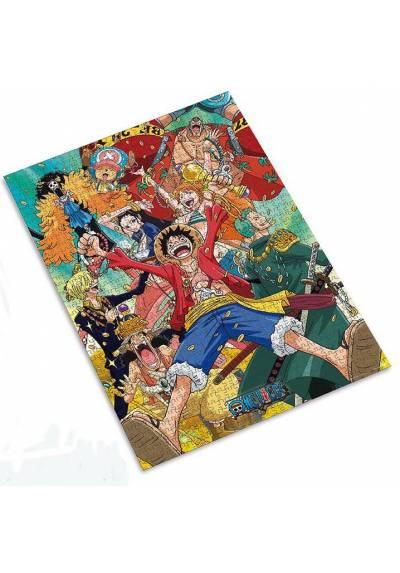 Jigsaw puzzle 1000 pieces - Straw Hat Crew - One Piece (50X70)