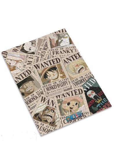 Jigsaw puzzle 1000 pieces - Wanted - One Piece (50X70)