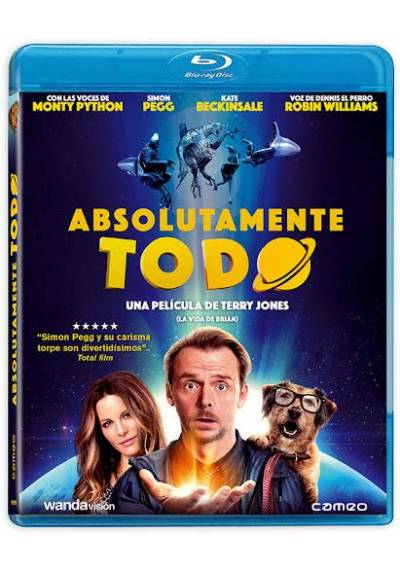 Absolutamente todo (Blu-ray) (Absolutely Anything)