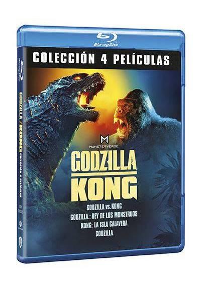Pack Godzilla / Kong Monsterverse (Blu-ray)