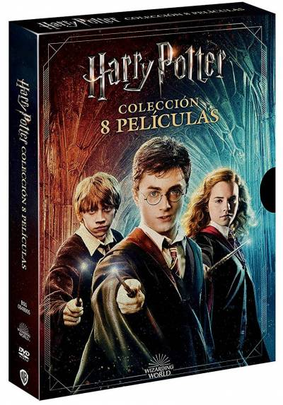 Pack Harry Potter: Coleccion Completa + Harry Potter Magical Movie Mode