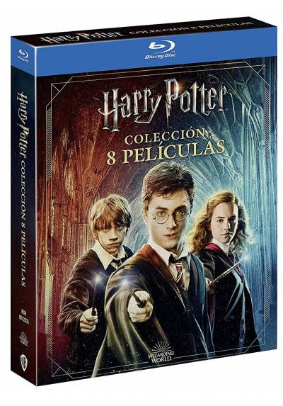 Pack Harry Potter: Coleccion Completa + Harry Potter Magical Movie Mode (Blu-ray)