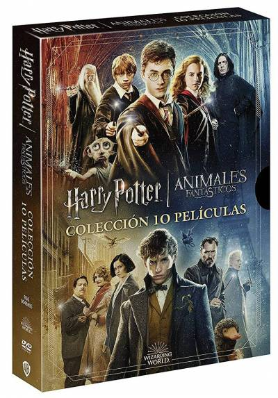 Coleccion Completa Harry Potter + Animales Fantasticos
