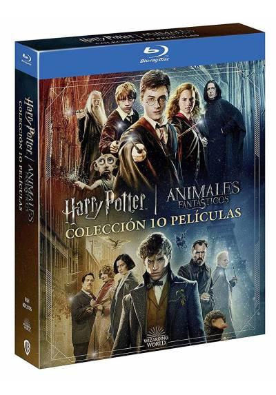 Coleccion Completa Harry Potter + Animales Fantasticos (Blu-ray)