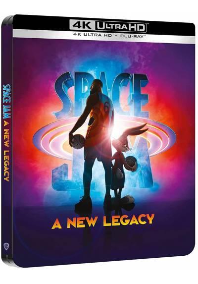 Space Jam: Nuevas Leyendas (Space Jam: A New Legacy) (Steelbook) (4K Ultra HD + Blu-ray)