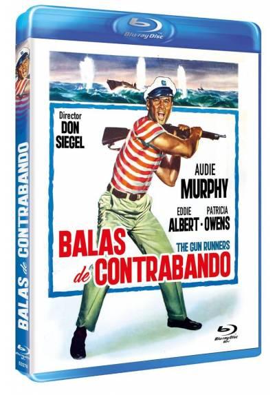Balas de contrabando (Blu-ray) (Bd-R) (The Gun Runners)