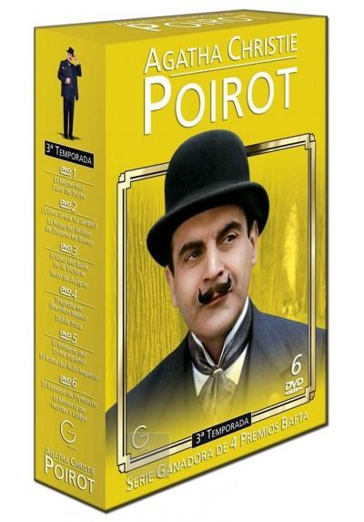 Poirot 3ª Temporada - Agatha Christie